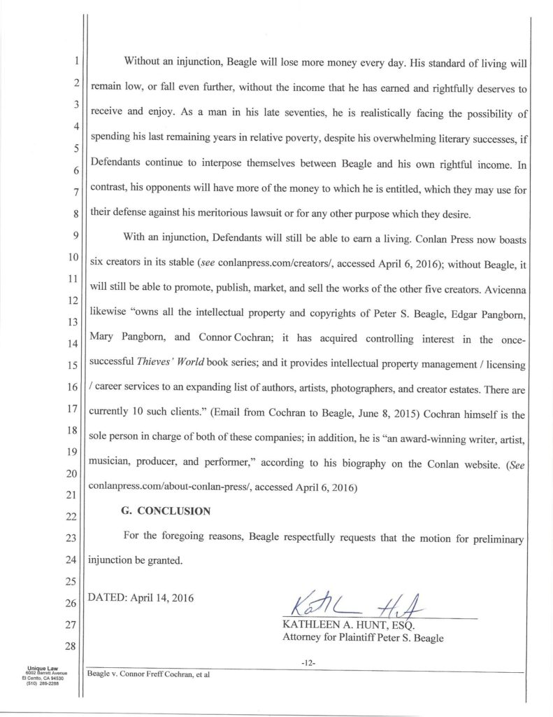 Amended Motion for Preliminary Injunction scan, Beagle_Page_12